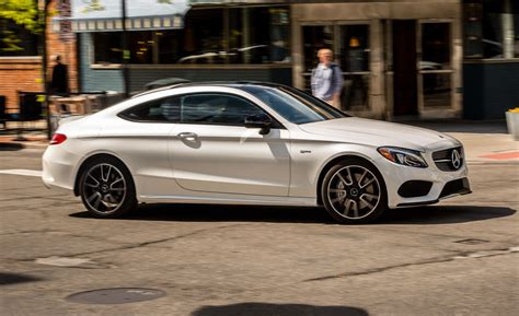 mercedes amg  coupe test review car  driver