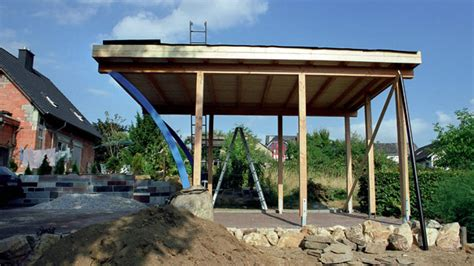 Selbstbau Carport by Carport Selbstbau Awesome Carport Selber Bauen With