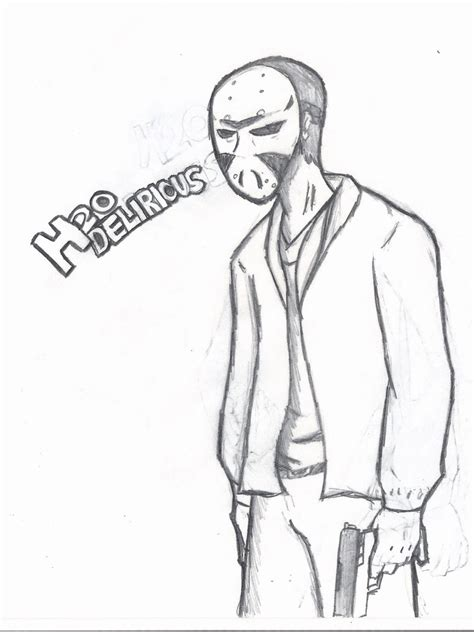 coloring pages of vanoss h2o delirious by starfish34 on deviantart