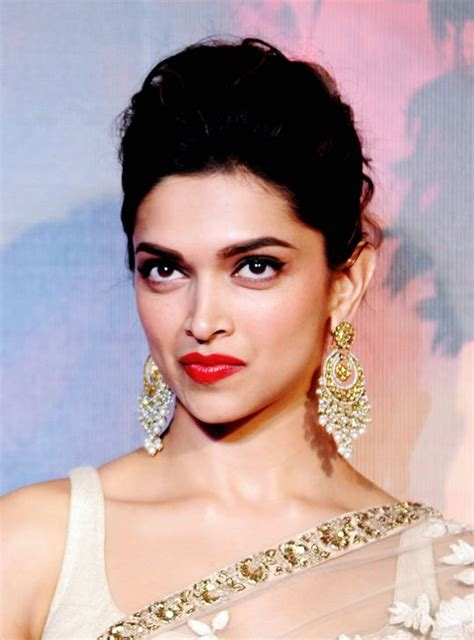 celebrity pout pics is that a pout deepika padukone at the first look launch
