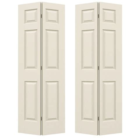 jeld wen interior doors home depot jeld wen 48 in x 79 in 6 panel textured primed molded