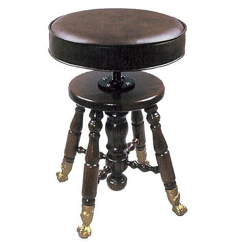 swivel top bar stools jansen claw foot upholstered top swivel piano stool