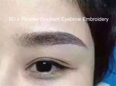 3d 6d eyebrow embroidery review removal price