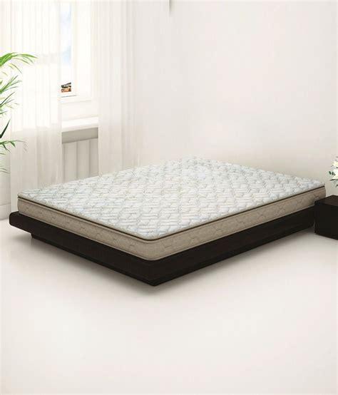 Mattress Sleepwell Price by Sleepwell Duet Luxury Foam Mattress 75x60x5 Inches