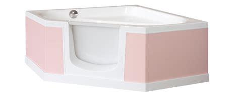 installation d une baignoire d angle installer une baignoire avec porte