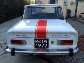 Alfa Romeo Giulia 1974 Alfa Romeo Giulia Nuova 1300 Excellent For Sale