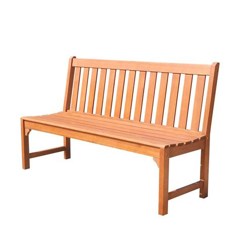armless patio bench v1638 home depot outdoor park benches