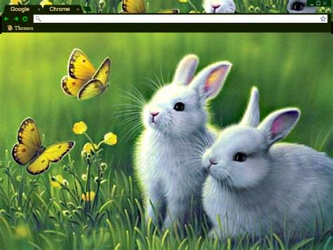 theme google chrome rabbit 13 spring chrome themes to warm up your browser brand