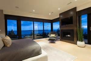 exemplary contemporary home bedroom interior contemporary house in west vancouver canada