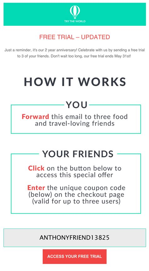 refer a friend email template 6 killer customer referral program ideas