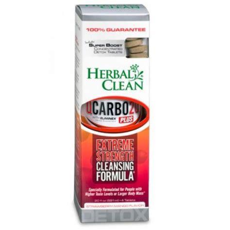 Verdant Herbal Detox Reliability by Herbal Clean Qcarbo 20oz Nhm Distributing