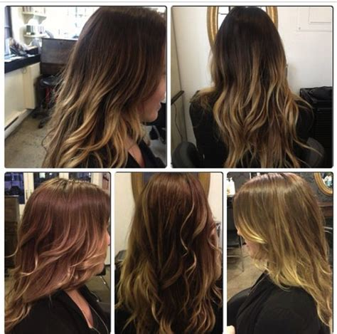 dark brown hair with light brown ombre ombre dark roots brown hair light brown dark to light