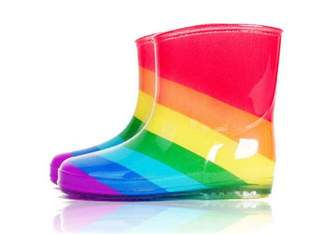 rainbow boots new 2015 size 15 23 colorful rainbow children boots