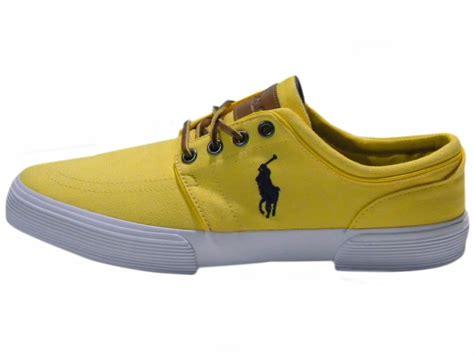 polo sneaker polo ralph shoes s faxon low canvas sneaker