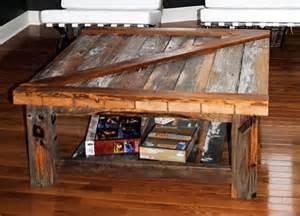Barn Door Coffee Table by Barn Door Coffee Table Ben S Future Cave
