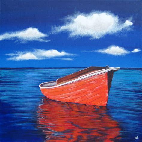 boat canvas ta ann steer gallery beach paintings and ocean art