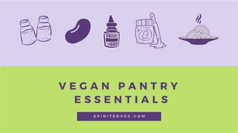 Vegan Pantry Essentials by What Do Vegans Buy At The Grocery Store How To Stock A