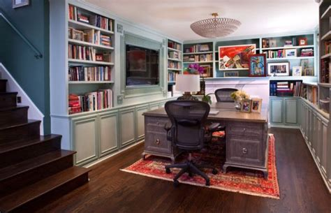 office library home office library with a compact look decoist