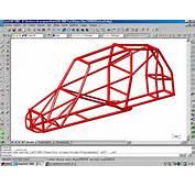 PROTO CAR Formato Dwg Autocad Modelo Tubular Modelizado 3D