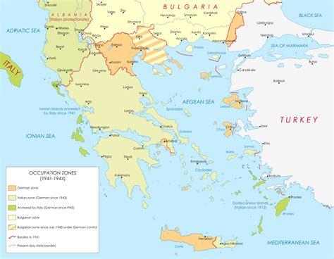 map world greece history of bulgaria during world war ii