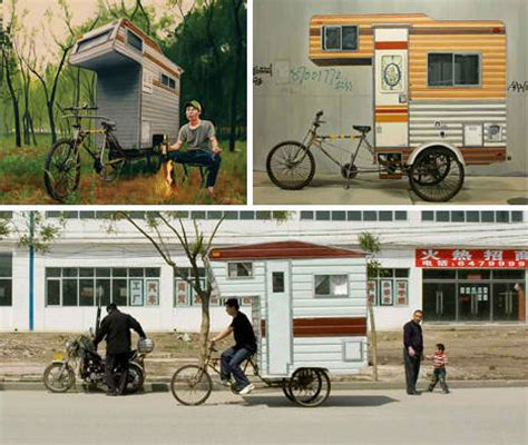 bike cers 12 mini mobile homes for nomadic cyclists