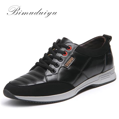 comfortable walking boots for men bimuduiyu luxury brand hot full grain genuine leather men