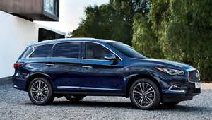 Infiniti X60 2016 Infiniti Qx60 Shows Fresh Style Retuned Chassis Updates
