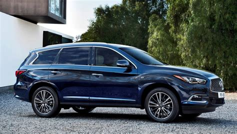 infiniti qx60 2016 infiniti qx60 shows fresh style retuned chassis updates