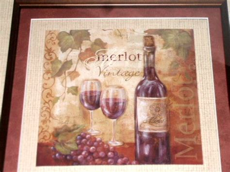 wine themed wall decor merlot wine framed picture wine themed wall decor