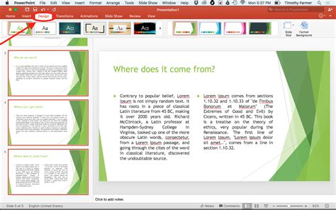 multiple themes in ppt using multiple powerpoint templates at the same time mr