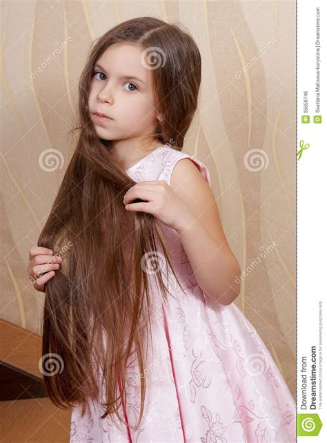 Longc Pinj Small with a hair stock photo image 35650746