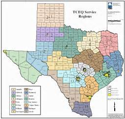 region map of clickable region map tceq www tceq gov