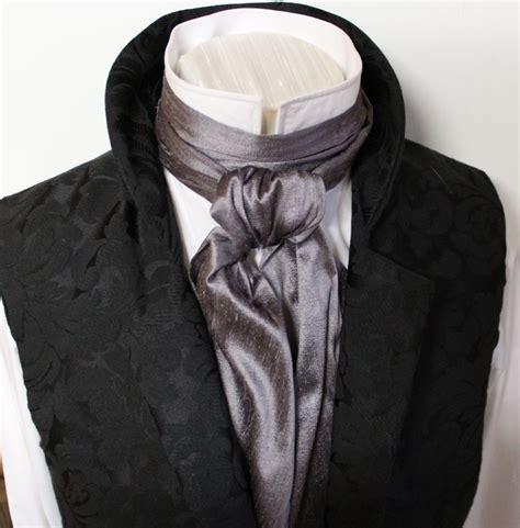 regency style ascot tie cravat