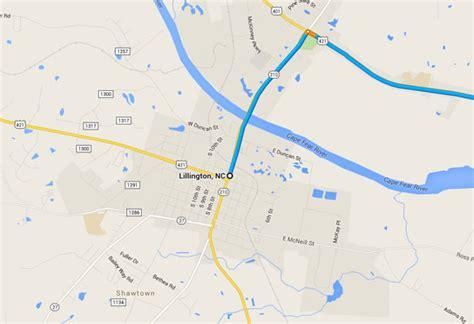 map of carolina lillington carolina witness says ufo followed their vehicle
