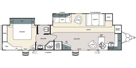 sandpiper travel trailer floor plans 2010 sandpiper by forest river m 403fk specs and standard