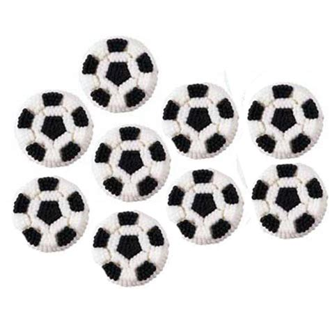 Cing Decorations by Wilton Soccer Icing Decorations