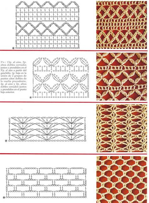 crochet pattern stitches pinterest 1000 images about crochet stitches and borders on