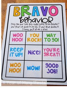 1000 ideas about bravo board on reward coupons 1000 images about classroom management on student behavior bingo and classroom