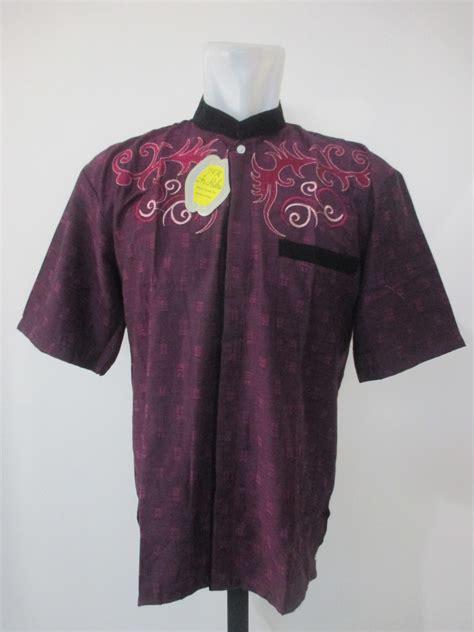 Baju Koko Kemeja Koko Baju Murah Pria Bordir Lengan Panjang Ramadhan koko bordir dewasa pusat grosir baju pakaian murah meriah 5000 langsung dari pabrik