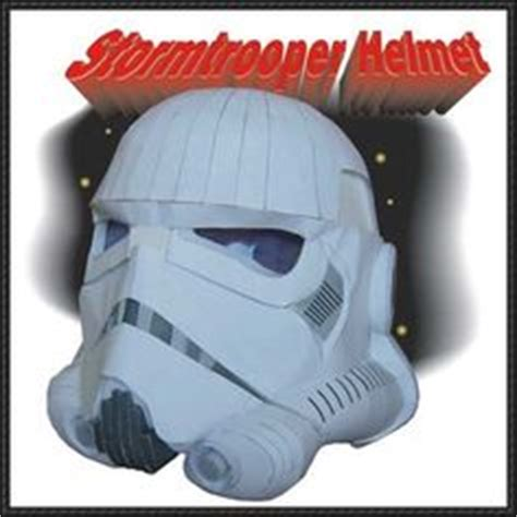 Stormtrooper Papercraft Helmet - 1000 images about wars papercraft on tie