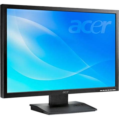 Monitor Lcd Pc Baru acer v223w bmd 22 quot widescreen lcd computer et ev3wp 002 b h