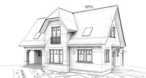 sketch a house east end reno delo design