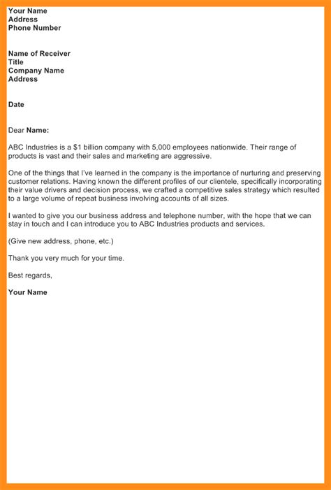 Business Letter New Address business letter announcing new address 28 images 7 sle