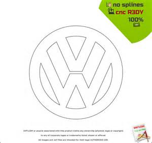 Dxf Templates by Vw Logo Dxf Free Dxf Files Free Cad Software Dxf1