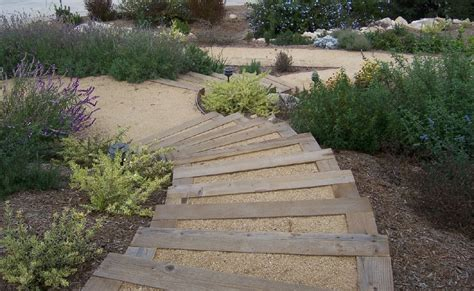 the 2 minute gardener garden elements landscape timber the 2 minute gardener photo landscape timber stairs