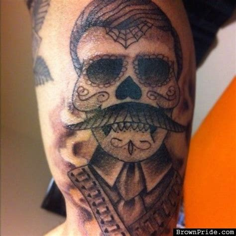 emiliano zapata tattoos day of the dead zapata tatt