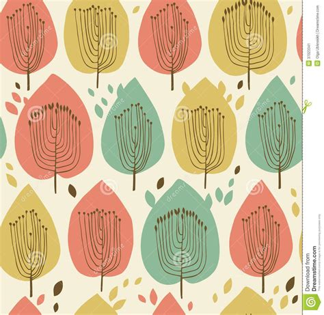 fabric pattern styles floral seamless pattern in scandinavian style fabric