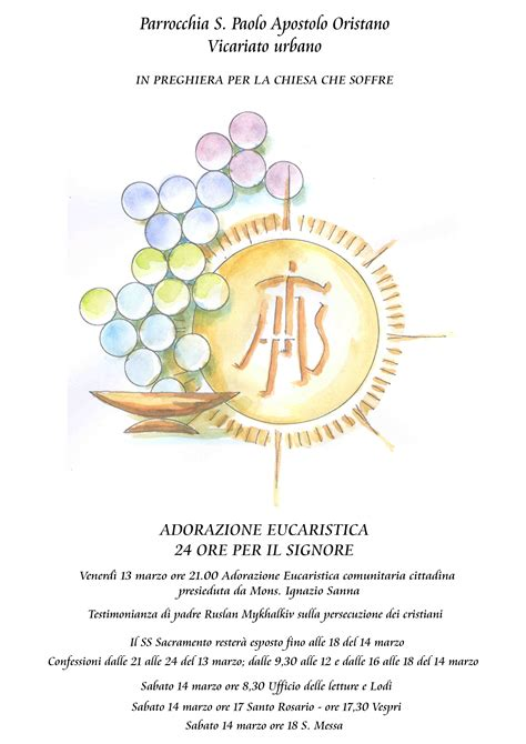 testi adorazione eucaristica adorazione eucaristica cittadina parrocchia san giuseppe