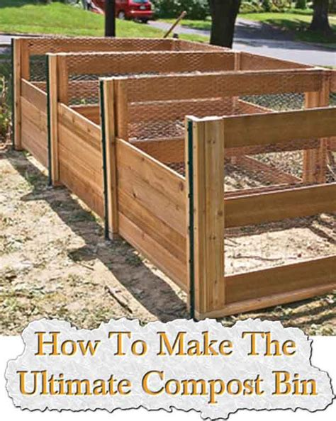 top 28 how to make a compost bin how to build the ultimate compost bin backyard feast how