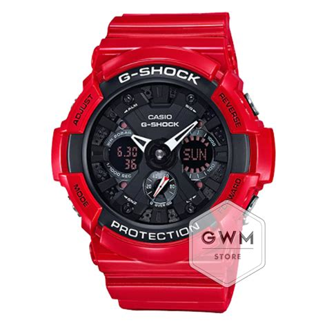 Casio G Shock Ga 110 Serie Ducati casio g shock ducati analog digital ga 201rd 4a